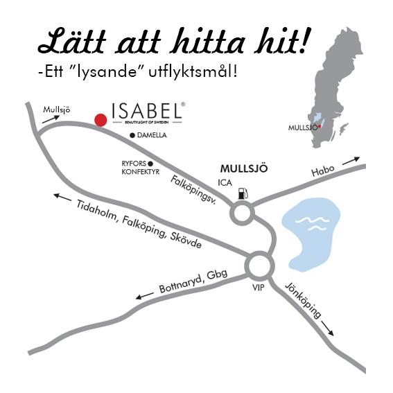 karta ISABEL MULLSJÖ